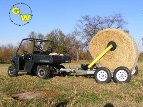 GrassWorks Hydraulic Hay Bale Handler